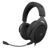 CORSAIR HS50 PRO STEREO Gaming Headset, Carbon (EU Version)