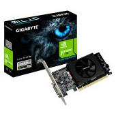 GIGABYTE Video Card NVidia GeForce GT 710 DDR5 1GB/64bit, 954MHz/5010MHz, PCI-E 2.0 x8, HDMI, DVI lo