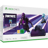 MICROSOFT XBOX ONE S 1TB BLACKBERRY + FORTNITE