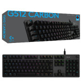 Logitech G512 CARBON with GX Red switches