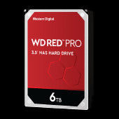 WD Red Pro 6TB SATA 6Gb/s 256MB Cache Internal 8.9
