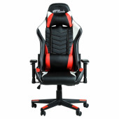 BYTEZONE Winner Gaming chair with LED lights, Red