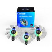 SAPPHIRE ARGB FANs (3 in 1), graphics card fan (transparent)