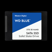 WD Blue 3D NAND SSD 2TB SATA III 6Gb/s cased 2,5In