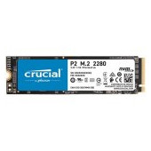 CRUCIAL P2 250GB SSD, M.2 2280, PCIe Gen3 x4, Read/Write: 2100/1150 MB/s, Random Read/Write IOPS: 17
