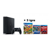 GAM SONY PS4 500GB + Crash i Spyro + Uncharted + Spiderman