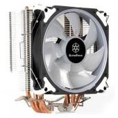 SilverStone SST-AR12-RGB Argon CPU Cooler, 4 Direct Contact Heatpipes, 120mm PWM RGB Fan, Intel/AMD