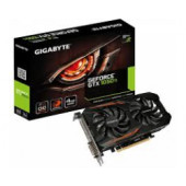 Gigabyte GeForce GTX1050 Ti 4GB GDDR5/128-bit, PCIe 3.0, DVI-D/HDMI/DP, Windforce 2X (GV-N105TOC-4GD)