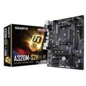 GigaByte MB A320M-S2H, S.AM4, DDR4/3200(OC), PCIe3.0, VGA/DVI-D/HDMI, SATA3, M.2, RAID, G-LAN, USB3.1, 8ch., mATX