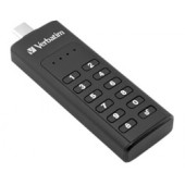 Verbatim Keypad Secure Drive 64GB, AES 256-bit hardware enkripcija, USB-C