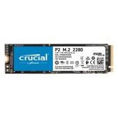 CRUCIAL P2 500GB SSD, M.2 2280, PCIe Gen3 x4, Read/Write: 2300/940 MB/s, Random Read/Write IOPS: 95K