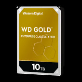 WD Gold 10TB HDD 7200rpm 6Gb/s sATA 256MB cache 3.