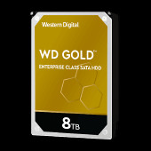 WD Gold 8TB HDD 7200rpm 6Gb/s sATA 256MB cache 3.5