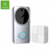 WOOX WiFi Smart zvono za vrata sa kamerom, 1280×720p, dvosmjerni audio, IR, microSD, Nightvision, Woox Home smart app, g