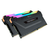CORSAIR 16GB DDR4 3200MHz DRAM C16 VENGEANCE RGB PRO Memory Kit — Black