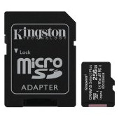 Kingston 256GB micSDXC Canvas Select Plus 100R A1 C10 Card + ADP EAN: 740617298710