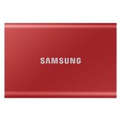 Samsung SSD T7  External 500GB, USB 3.2, 1050/1000 MB/s, included USB Type C-to-C and Type C-to-A ca