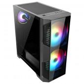 Abkoncore Helios 500G, TG, RGB, 2xU3, 2xU2, ATX