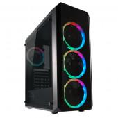 LC-Power 703B - Quad-Luxx, RGB, crno bez nap.