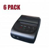 NaviaTec 5802LD 58mm POS Thermal Printer BlueTooth - 6 pack