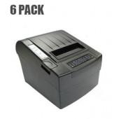 NaviaTec 80230 - 80mm POS Thermal Printer - 6 pack