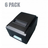NaviaTec 80250 - 80mm USB only POS Thermal Printer - 6 pack