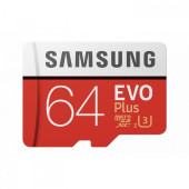 SAMSUNG EVO Plus 64GB microSD + adapter