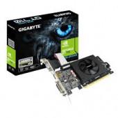 GIGABYTE Video Card NVidia GeForce GT 710 LP DDR5 2GB/64bit, 954MHz/5010MHz, PCI-E 2.0 x8, HDMI, Coo