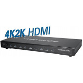 Transmedia 4K2K 8-way HDMI Splitter