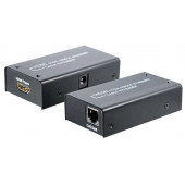 Transmedia HDMI extender using one Cat5e Cat6 cable