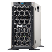 DELL EMC PowerEdge T340 w/8x 3.5in, Intel Xeon E-2224 3.4GHz, 8M, 4C/4T, turbo (71W), 16GB 2666MT/s