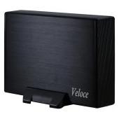 "Drive Cabinet INTER-TECH Veloce (3.5"" HDD, SATA/SATA II, USB3.0) Black"