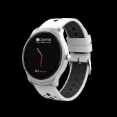 Smart watch, 1.3inches IPS full touch screen, Silver Alloy+plastic body,IP68 waterproof, multi-sport