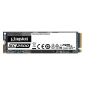 Kingston 500GB KC2500 M.2 2280 NVMe SSD, up to 3500/2500MB/s, EAN: 740617307160