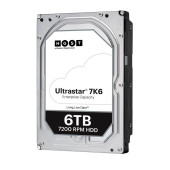 Western Digital Ultrastar DC HDD Server 7K6 (3.5'', 6TB, 256MB, 7200 RPM, SAS 12Gb/s, 512E SE), SKU: