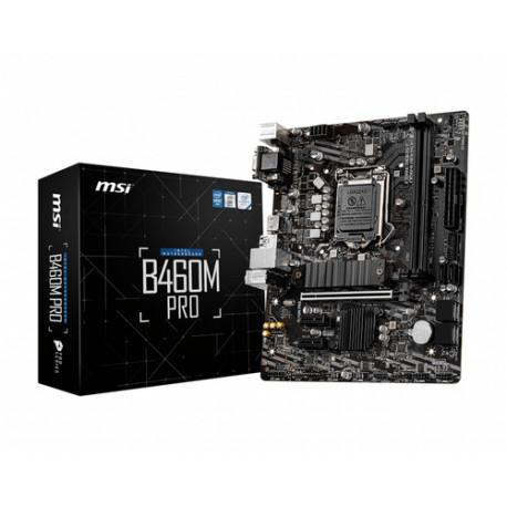 MSI B460M PRO matična ploča LGA 1200 Mikro ATX Intel B460