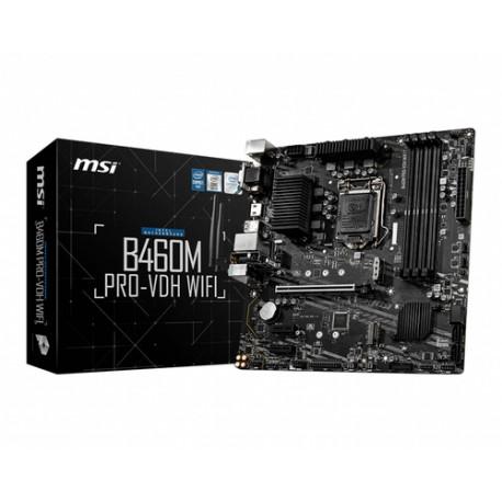 MSI B460M PRO-VDH WIFI LGA 1200 Mikro ATX Intel B460