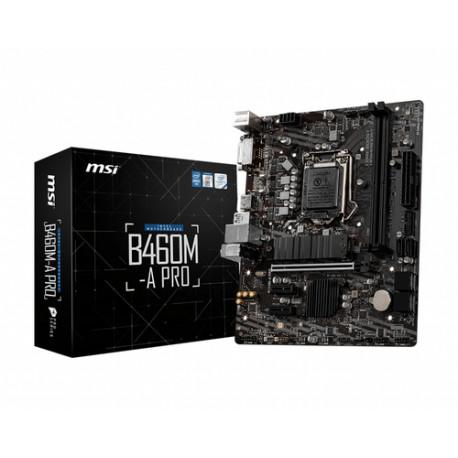 MSI B460M-A PRO LGA 1200 Mikro ATX Intel B460