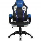 Gaming chair Bytezone Racer PRO (black-grey-blue)