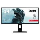 "iiyama 34"" UW Pro-Gaming, G-Master Red Eagle, 144Hz, IPS panel, 3440x1440 (21:9), Height Adjust. (13"