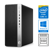 HP EliteDesk 800 G3 CMT i5-7500 + 8GB + SSD