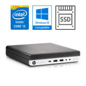 HP EliteDesk 800 G3 DM i5-7500 + 8GB + SSD