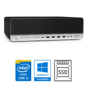 HP EliteDesk 800 G3 SFF i5-7500 + 8GB + SSD