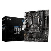 MSI Main Board Desktop H410M-A PRO (S1200, 2xDDR4, 1xPCI-Ex16, 1xPCI-Ex1, USB3.2, 4xSATA III, DVI-D,