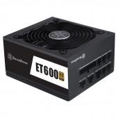 SilverStone Strider Essential Series, 600W 80 Plus Gold ATX PC Power Supply, Low Noise 135mm, 100% m
