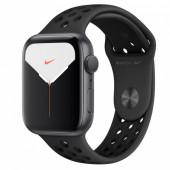 Watch Apple Watch Nike Series 5 GPS 44mm Grey Aluminum Case with Sport Band - Black EU