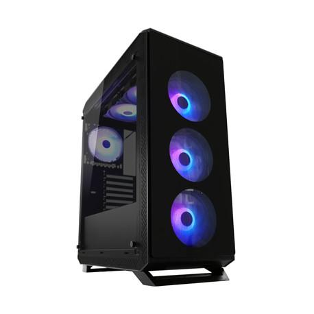 Kućište LC POWER LC-801B-ON Sera_X, MIDI, ATX, window, crno, bez napajanja