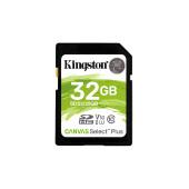 KINGSTON 32GB SDHC Canvas Select Plus