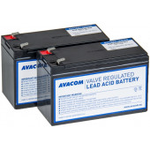 Avacom baterijski kit za APC RBC22 (2 bater.)