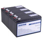 Avacom baterijski kit za APC RBC115 (4 bater.)
